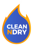 Clean N Dry Water, Fire, Mold & Carpet Cleaning Logo