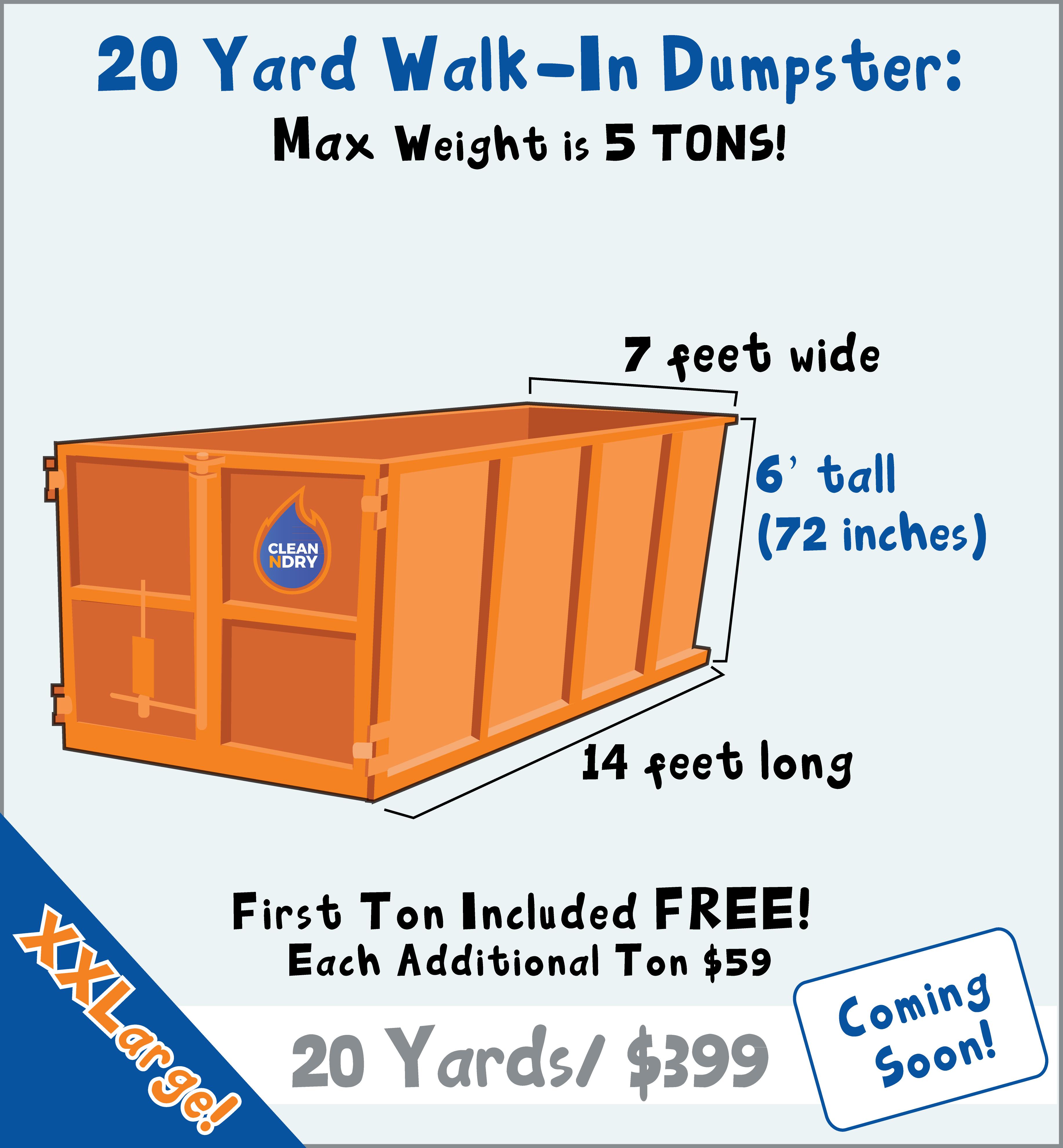 Rent a dumpster delivery orlando trash bin rental walk in dumpster rental orlando 20 yard