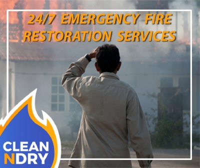 Fire Cleanup, Emergency Restoration Orlando